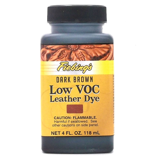 Fiebing's LeatherColors Dark Brown 4 oz.