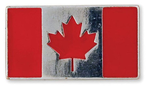 Canadian Flag Screwback Concho