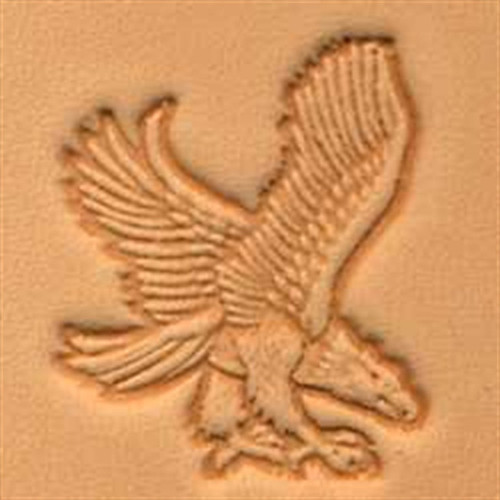 Craftool Eagle in Flight Rt View 3D Stamp 88301-00