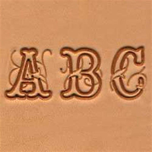 3 4 Craftool Script Alphabet Stamp Set 8139 00 By Tandy Leather