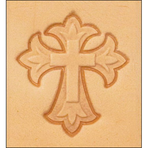 Cross Leather Stamp 8614-00
