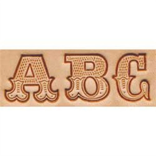 "Craftool 3/4"" Alphabet Stamp Art Set 8145-00"