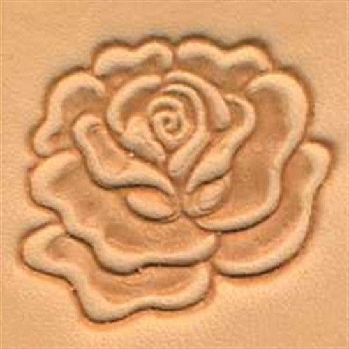 Craftool 3D Rose Stamp 88493-00 by Tandy Leather