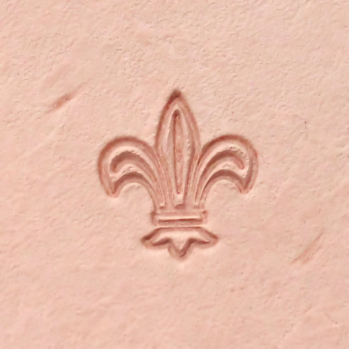 Fleur De Lis Leather Stamp US04 US Stamps