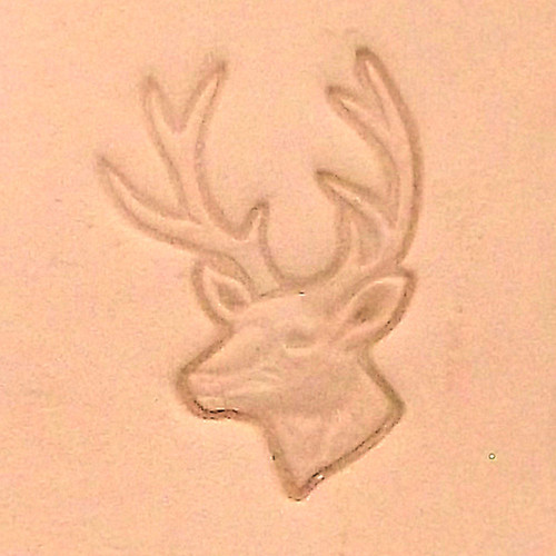 White Tail Deer 3-D Leather Stamping Tool