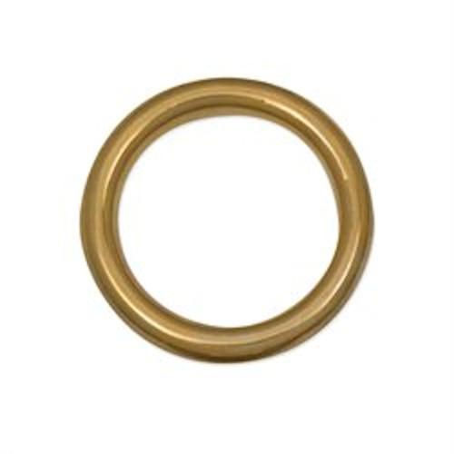 """Solid Brass Ring 1-1/4"""" (31.7 mm)"""