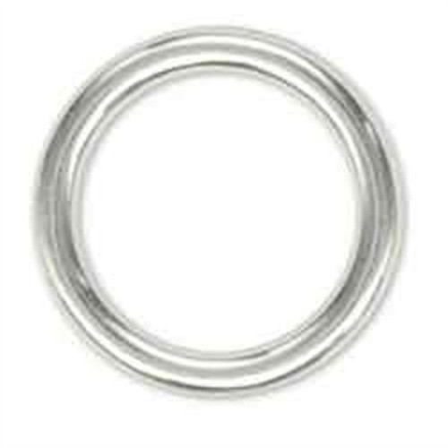 """Solid Ring 3"""" Nickel Plated"""