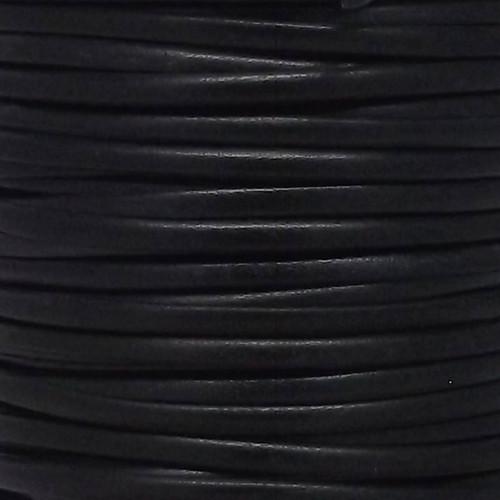 Calf Lace Black Side