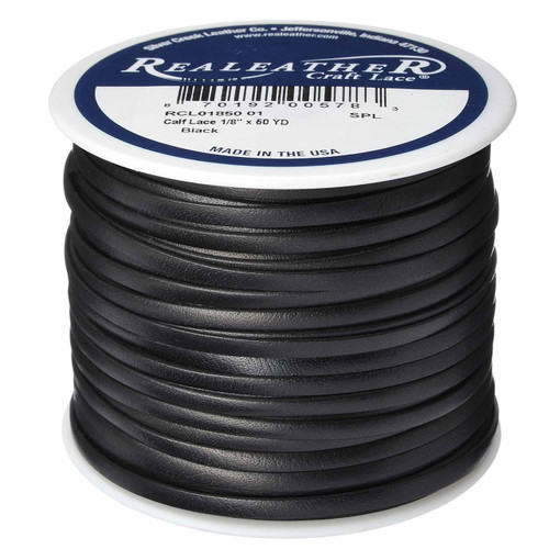 Calf Lace Black Spool