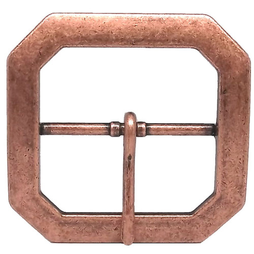"Reenactment Buckle 2"" Antique Copper"