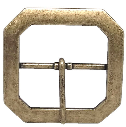 "Reenactment Buckle 2"" Antique Brass"