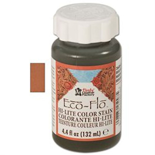 Eco-Flo Hi-Lite Stain 4.4 fl. oz. (132 ml) Chestnut 2608-04 by Tandy Leather