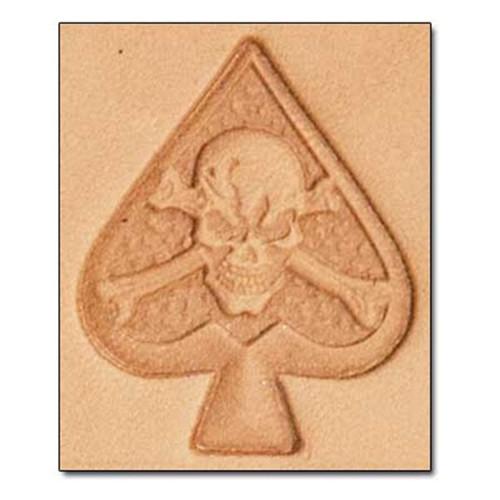 Craftool 3-D Stamp Skeleton Spade