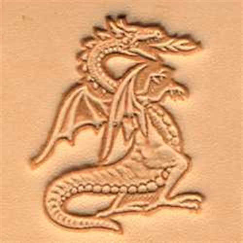 Craftool 3d Dragon Stamp 88423-00 by Tandy Leather