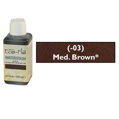 Eco-Flo Professional Waterstain Medium Brown 8.5 oz.