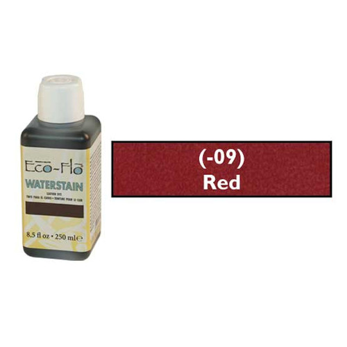 Eco-Flo Professional Waterstain Red 8.5 oz