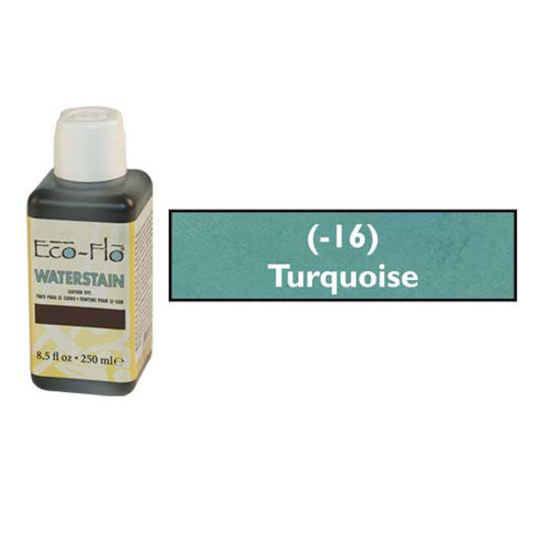 Eco-Flo Professional Waterstain Turquoise 8.5 oz.