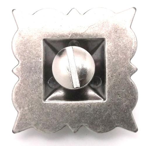 "Sheridan Concho 1.25"" (3.2 cm) Screwback in Antique Nickel"