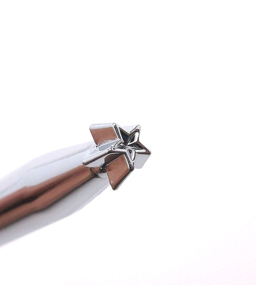 "Super Small Star Leather Stamp 5/32"" (4.5 mm) Z610 by Stecksstore"