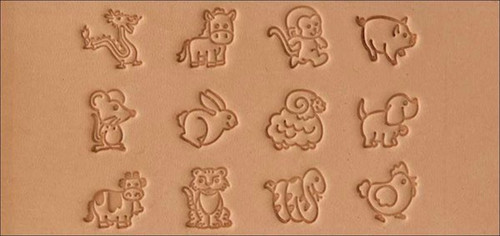 Craftool Cartoon Animal Stamp Set 1/2 in