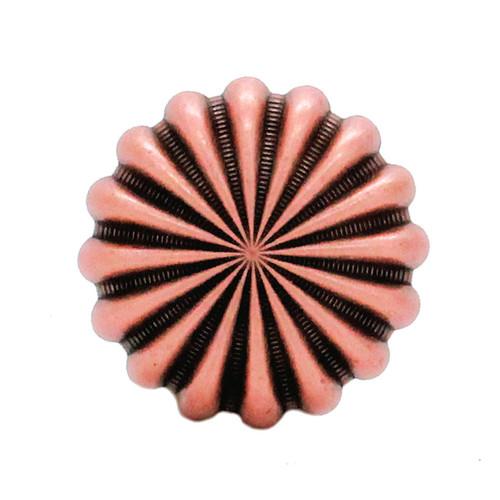 """Parachute Concho Antique Copper 1"""" Front"""