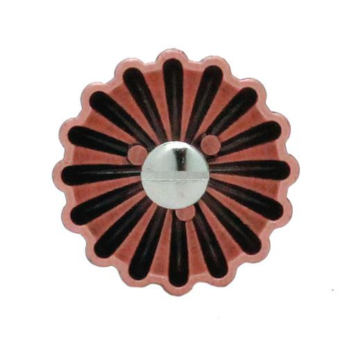 """Parachute Concho Antique Copper 1"""" Back"""