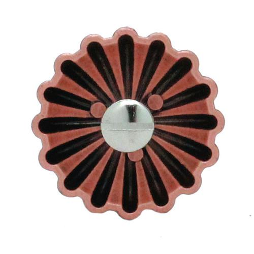 """Parachute Concho Antique Copper 1.25"""" Back"""