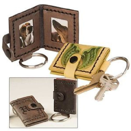 "Picture Frame Key Ring Kit 2"" x 2-3/8"" by Tandy Leather 4150-00"