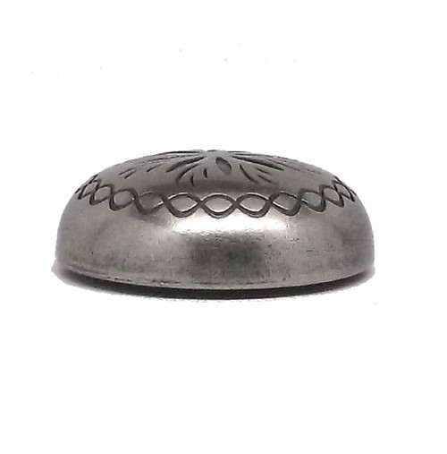 "Sunburst 1-1/4"" x 3/16"" Antique Nickel Screwback Concho 2998AN Stecksstore"