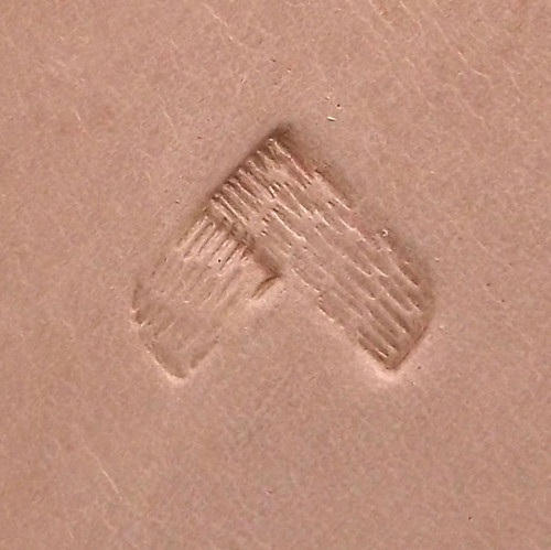 "D2185 Rope Border Leather Stamp 1/4"" x 1/4"" by Stecksstore Decorating and Art"