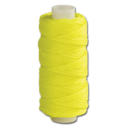 Waxed Braided Cord 25 yds. Yellow 11210-31