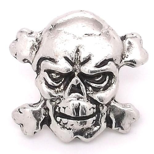 Skull and Crossbones Line 24 Snap Cap