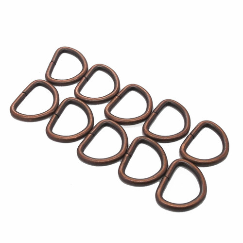 "Solid Dee Copper Plated 3/4"" bulk"