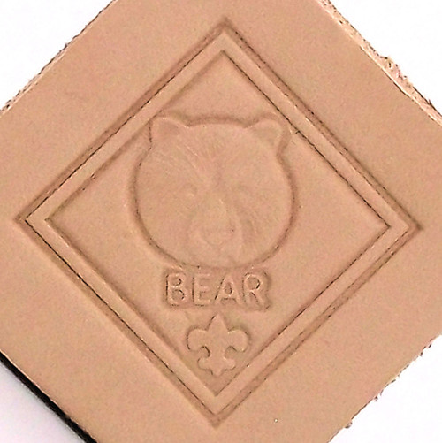 Bear Scout Leather Stamping Tool