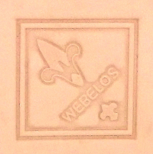Webelos Leather Stamping Tool