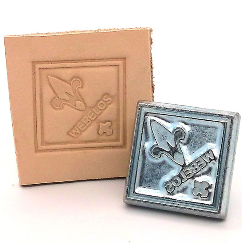 Webelos Leather Stamping Tool with Stamp