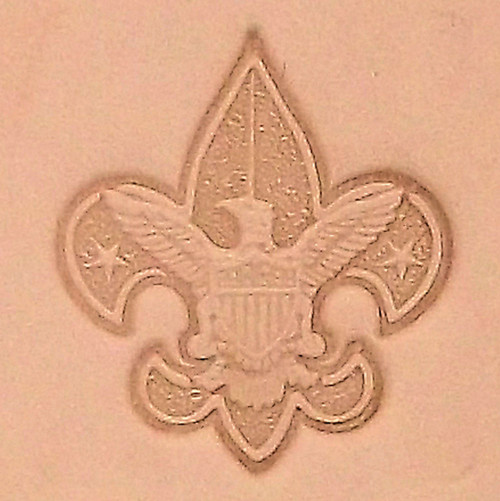 Boy Scout Emblem Leather Stamping Tool