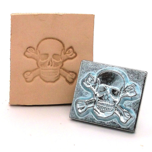 Skull and Crossbones Stamp Tool with Stamp