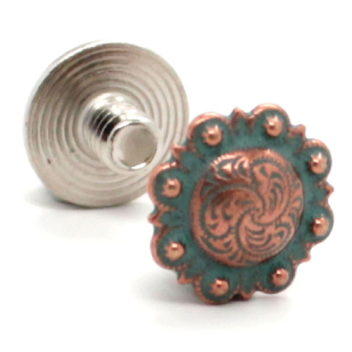Chicago Screws Copper Patina Plated