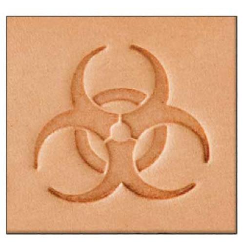 Biohazard Leather Stamp