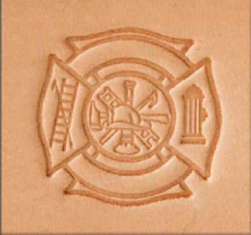 Fire 3-D Stamp 8596-00