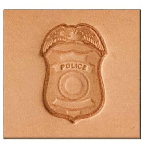 Police 3-D Stamp