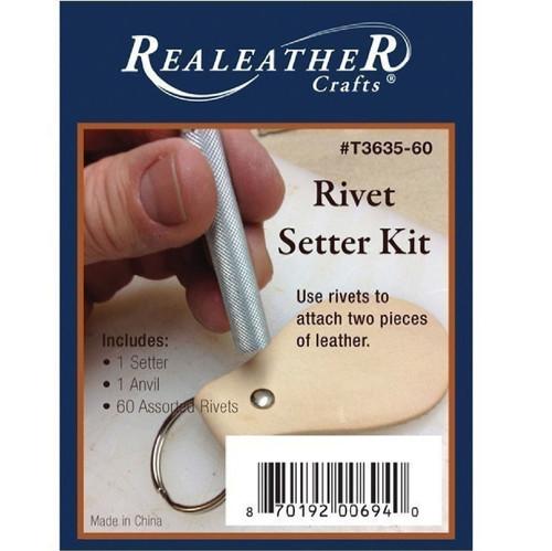 Rivet Setter Kit Nickel Plated