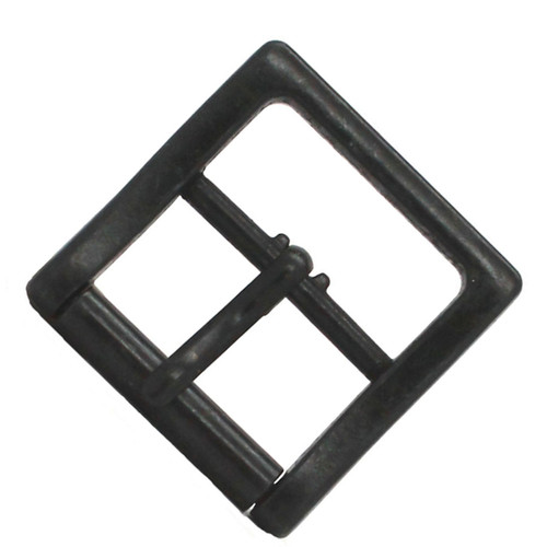 Black Buckle Roller Bar Square 1""