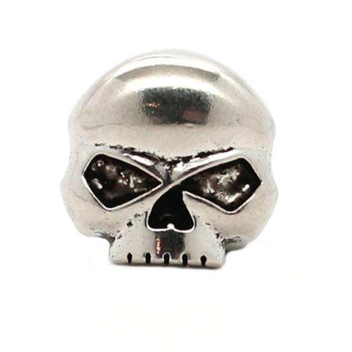 "Skull Nickel Decorative Line 24 Snap Cap 3/4""1265-995"