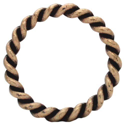 """Ring Rope Antique Brass 1-1/2"""""""