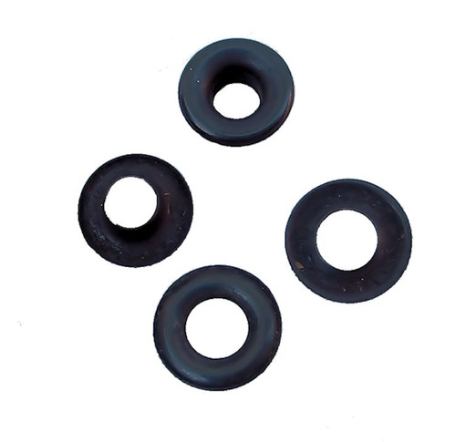 "Black Steel #2 5/16"" (7.9 mm) Grommets B1S-2"