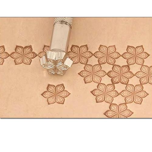 K144 Petal Craftool Leather Stamp