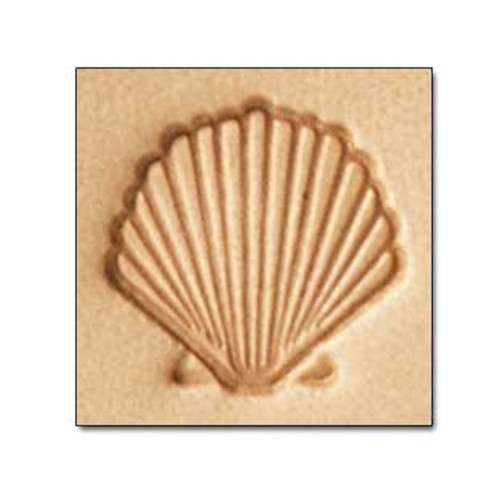 E587 Scallop Craftool Leather Stamp