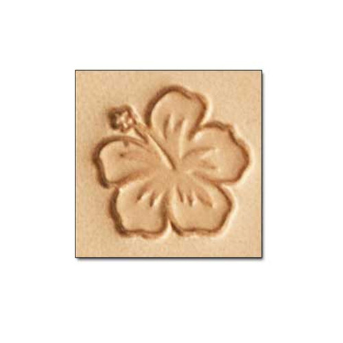 E589 Flower Craftool Leather Stamp